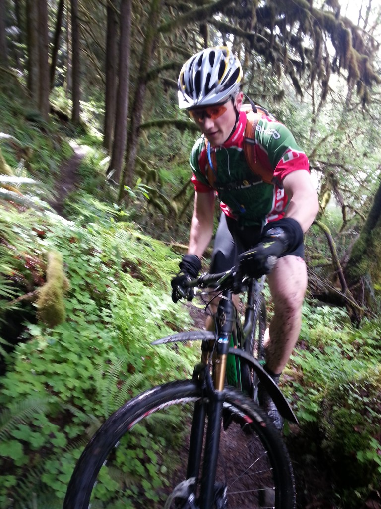 Andrew shreds on his new bike!